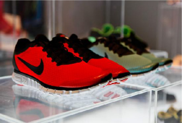 """10a819ae0724 Just Do It"""" Nike Free Run 3.0 Sneakers – Curated by Kena"""