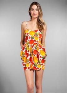 Samantha Pleet fruit print dress