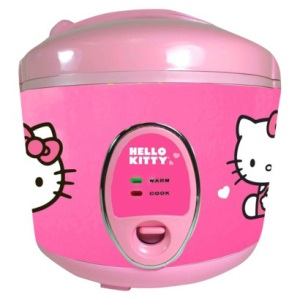 Hello kitty rice cooker $29