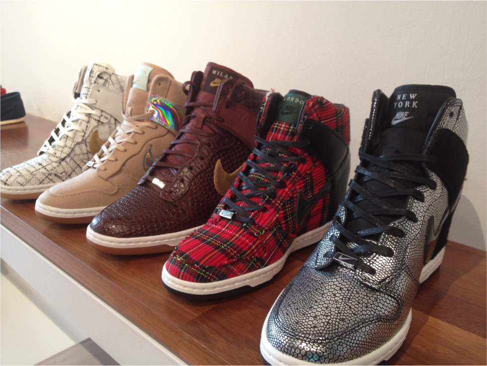 more photos ad554 c0a6b Where to Buy  Nike Dunk Sky High  City Pack  Sneakers (Updated 4-26 ...