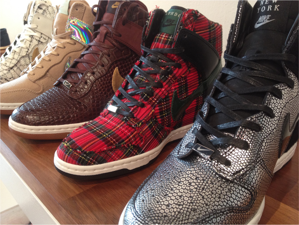 more photos 7331f e4cd6 Where to Buy  Nike Dunk Sky High  City Pack  Sneakers (Updated 4-26 ...