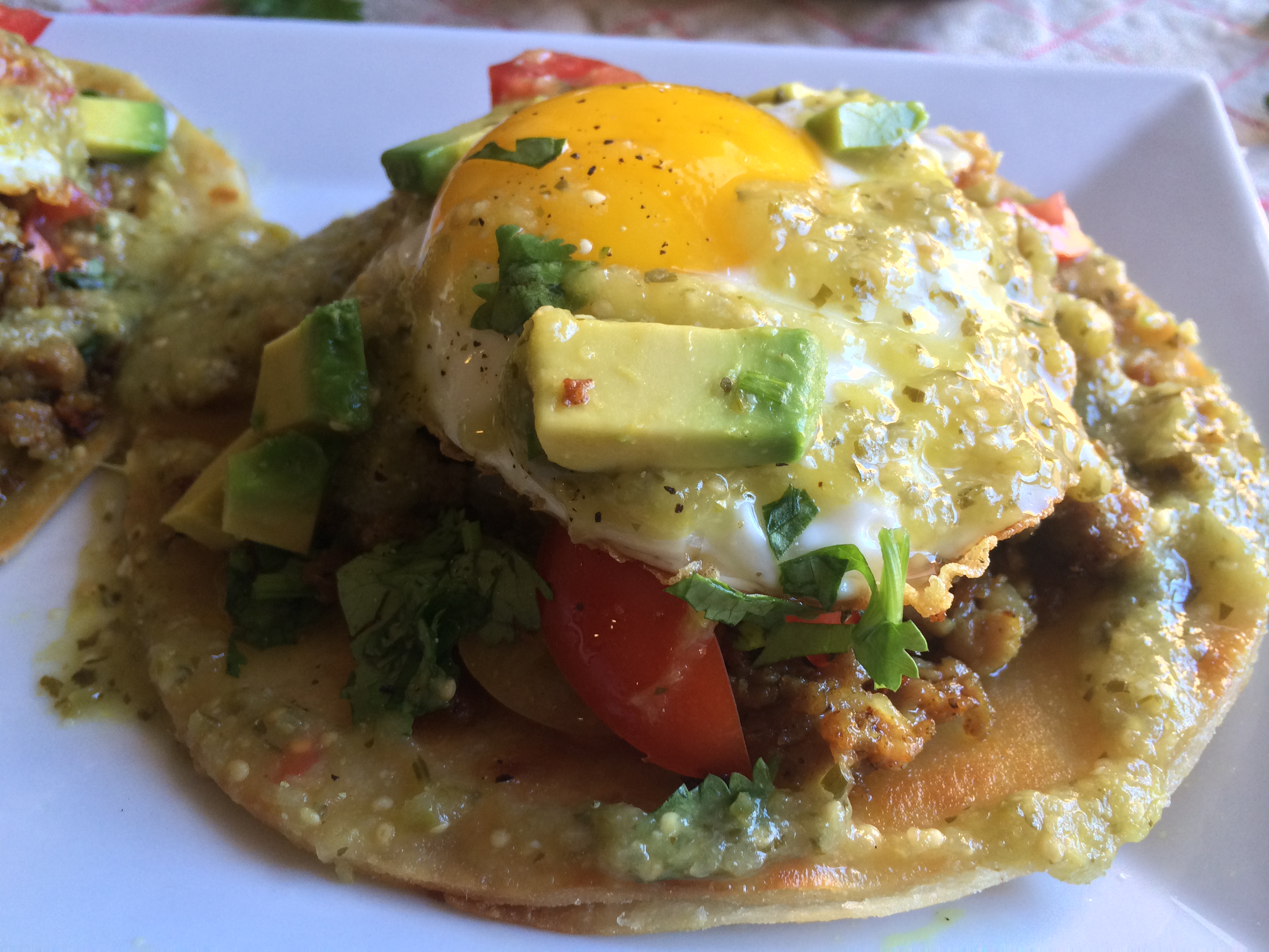 Huevos Rancheros with Homemade Salsa Verde | Curated by Kena